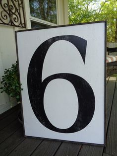 fixer upper number sign large number sign by kpattondesigns
