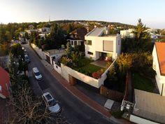 Surprising Urban Garden Exhibited by Contemporary Home in Bratislava