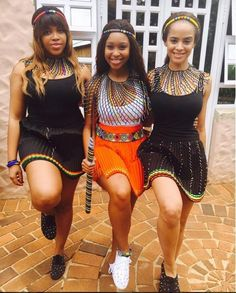 shared puctures of her clad in modern traditional Zulu attire Zulu Traditional Attire, Modern Traditional, Traditional Dresses, African Fashion Dresses, African Dress, Culture, Thought Provoking, Inspiration, Outfits