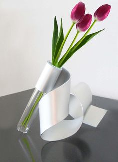 Sculpture Vase by steelribbons on Etsy, $35.00