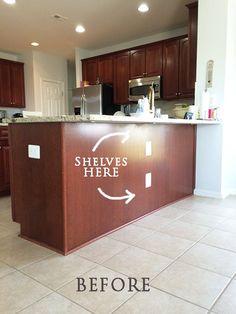 Diy Shelves E Under Your Counter