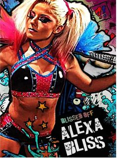 New suicide squad member #BlissedOff #Alexa Bliss