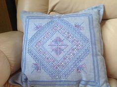 Hardanger pillow