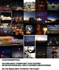 We're handing our Instagram account over to the Earth Hour global community, to inspire one another to go beyond the hour everyday. Tag your shots #YourPlanet to be featured on our wall and our Facebook page. They can be Earth Hour images, or any shots that envision a more sustainable world. Everyday we'll select an image, so let's see the world unite to protect the planet.