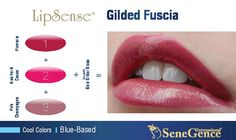 Plumeria, Kiss for a Cause, Pink Champagne. Smudge proof lipstick.  LipSense by SeneGence color blends.  Order here now.