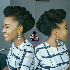 35 natural braided hairstyles without weave - Afro Hair Natural Braided Hairstyles, Natural Hair Updo, Twist Hairstyles, African Hairstyles, Natural Hair Styles, Black Hairstyles, Bridal Hairstyles, 4c Hair, Hair Dos