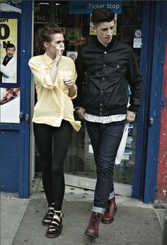 THE TEAM | dr. martens ss13 lookbook | tricia hall [a stylist blog]