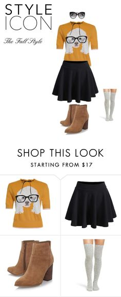 """""""Fall"""" by fstein on Polyvore featuring WithChic, Nine West, Peony & Moss and Alexander McQueen"""