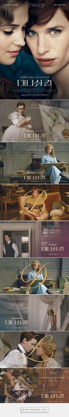 propa-ganda 프로파간다 The Danish Girl, Poster Layout, Album Book, Moving Pictures, Editorial Design, Good Movies, I Movie, Album Covers, Drama