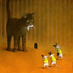 cloudyskiesandcatharsis:  Brilliant Thought-Provoking Satirical Illustrations by Pawel Kuczynski