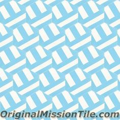 Cement Tile Hex. Bob Design | Original Mission Tile