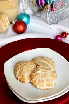 ... Cookies:) | Pinterest | Eggnog Cookies, White Chocolate and Cookies