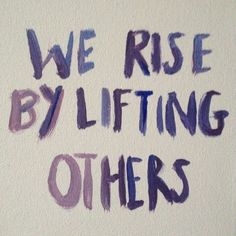 #Quote for today. we rise...