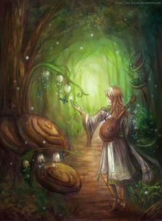 Minstrel's path by *Yue-Iceseal on deviantART
