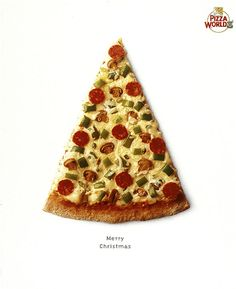 pizza xma tree