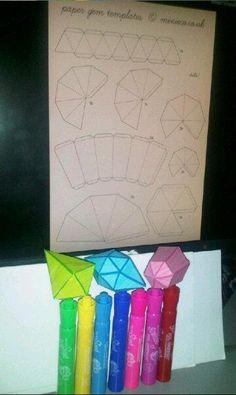 ...Paper Gems...   the printables : http://www.minieco.co.uk/images/nov11/minieco-paper-gems.pdf