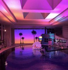 Interior Living Room Design Trends for 2019 - Interior Design Neon Bedroom, Room Ideas Bedroom, Dream Bedroom, Girls Bedroom, Bedroom Decor, Bedrooms, Neon Aesthetic, Aesthetic Bedroom, Dream Home Design