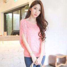 Buy 'Tokyo Fashion – Batwing-Sleeve Pointelle-Knit Top' with Free International Shipping at YesStyle.com. Browse and shop for thousands of Asian fashion items from Taiwan and more!