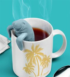 Enjoy the company of Florida's most lovable sea cow the next time you use the manatee tea infuser to prepare your favorite hot beverage. This gentle giant...