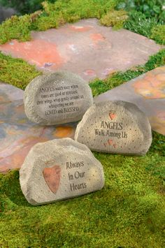 Whether you love angels or simply just want something in your #garden to remember someone special, these garden rocks are your answer! Only $10.99 from Parties2order