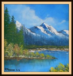 Spring Mount-frame. painted approx 3/2012. size 200 mm x 200 mm. for sale $ 15. Paintings, Mountains, Spring, Frame, Nature, Picture Frame, Naturaleza, Paint, Painting Art