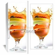 Αυτοκόλλητο Ψυγείου Φρούτα σε ποτήρι Margarita, Alcoholic Drinks, Wine, Tableware, Glass, Food, Dinnerware, Drinkware, Tablewares