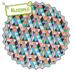 Sweat Triangle mint  - Bio-Baumwollsweat von Lillestoff