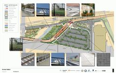 SE Tacoma St/Johnson Creek Station Plan - Portland-Milwaukie Light Rail (Orange line)