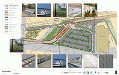SE Tacoma St/Johnson Creek Station Plan - Portland-Milwaukie Light Rail (Orange line)