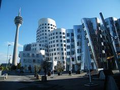 Gehry Buildings Düsseldorf, Germany