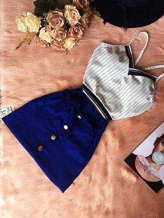 Casual Summer Dresses, Summer Outfits, Cool Outfits, Casual Outfits, Urban Fashion, Womens Fashion, Adidas Outfit, Courses, Swagg
