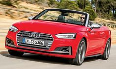 AUDI has completed the sporty executive line up with the launch of the and Cabriolet finishing off the family as they joins the recently laun. Audi S5, Motor, Lupe, A5, Savage, Passion, Convertible, News