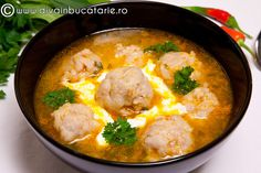 Soup Recipes, Cooking Recipes, Romanian Food, Cheeseburger Chowder, Thai Red Curry, Mashed Potatoes, Dishes, Ethnic Recipes, Desserts