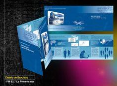 Diseño de Brochure FM92.7 La Primerísima