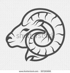 Find ram logo stock images in HD and millions of other royalty-free stock photos, illustrations and vectors in the Shutterstock collection. Arte Aries, Aries Art, Zodiac Art, Bull Tattoos, Irish Tattoos, Tatoos, Logo Design, Icon Design, Tattoo Musik