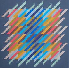 Anton Stankowski art quilt