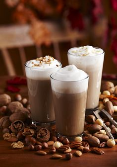 The Butter Pecan Latte is a creamy, dreamy, delicious drink! // Torani Syrup