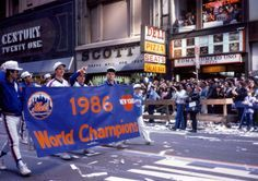 Mets victory parade, October 28th, 1986.