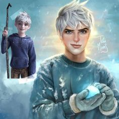 Jack Frost From Rise Of The Guardians by TatiMoons Disney Princess Drawings, Disney Princess Art, Disney Drawings, Cartoon Drawings, Cartoon Cartoon, Cartoon Kunst, Jack Frost, Realistic Cartoons, Realistic Drawings