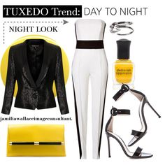 """""""Tuxedo Trend"""" by jamilia-wallace on Polyvore"""
