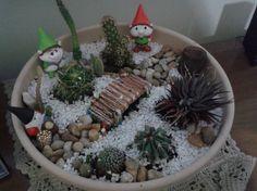 Minha nova criação, mini jardim mágico!