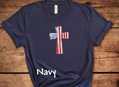 4th of July Cross T-Shirt, Red White Blue Cross, Fourth of July T-Shirt, Independence Day Tee, Plus Size 4th of July T-Shirt, Plus Size Tee by ButlerTees on Etsy Cheerleading Shirts, Cheer Shirts, Youth Cheer, Cheer Mom, Pom Pom Shirts, Merica Shirt, Funny 4th Of July, Glitter Shirt, Blue Cross