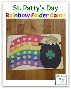 St. Patty's  Rainbow Folder Game