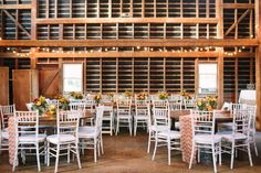 Rustic Reception Decor | Brklyn View Photography | TheKnot.com