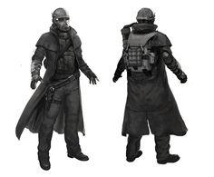 Fallout New Vegas Concept Art - NPC Ranger