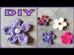 YouTube Crocheting, Floral, Flowers, Youtube, Flower Crochet, Diy, Breien, Gifts, Crochet