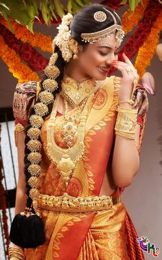 Gorgeous South Indian Wedding bridal Hairstyles (17)