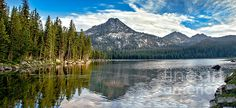 Panoramic View Of Anthony Lake: See more at:  http://fineartamerica.com/profiles/robert-bales.html