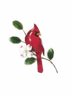 Ship Date: weeks Glass Enameled Cardinal on Dogwood. The process includes vitreous enamel (which is pulverized glass) applied by hand, using a delicate sprinkling method, layer upon layer, over so Red Cardinal Tattoos, Small Cardinal Tattoo, Red Bird Tattoos, Butterfly Tattoos, Cardinal Birds, Future Tattoos, New Tattoos, Small Tattoos, Cool Tattoos