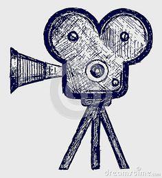 video-camera-sketch-26513703.jpg (400×440)